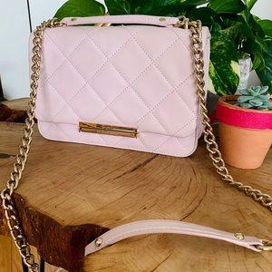 Kate Spade ♠️ Quilted Blush Pink Handbag